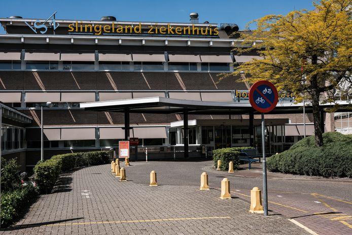 Het Slingeland Ziekenhuis in Doetinchem, waarnaast zorginstelling Sensire mogelijk gaat bouwen