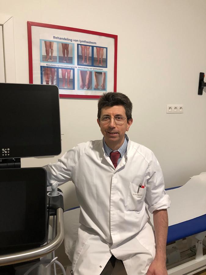 Dokter Guido Giacalone van AZ Sint-Maarten