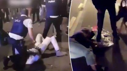 Brusselse politie start intern onderzoek na interventie op Sint-Katelijneplein: beelden tonen hoe jongeren zwaar aangepakt worden