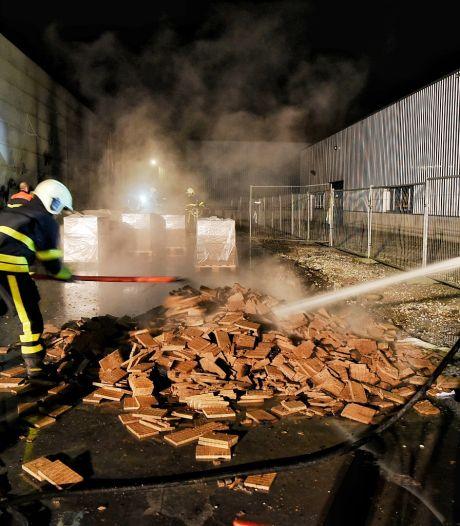 Opnieuw brand bij aanmaakblokjesfabrikant: vierde keer in paar dagen