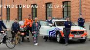 Patrouillehond Tjerko toont zijn kunnen tijdens opendeurdag politiezone Voorkempen