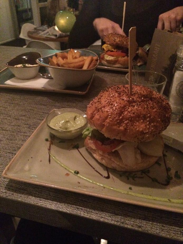 Een hamburger van Ingeburgerd.