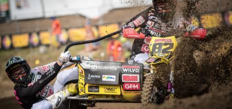 Zijspancrosser Etienne Bax na GP-zege in Zwitserland weer stap dichter bij wereldtitel