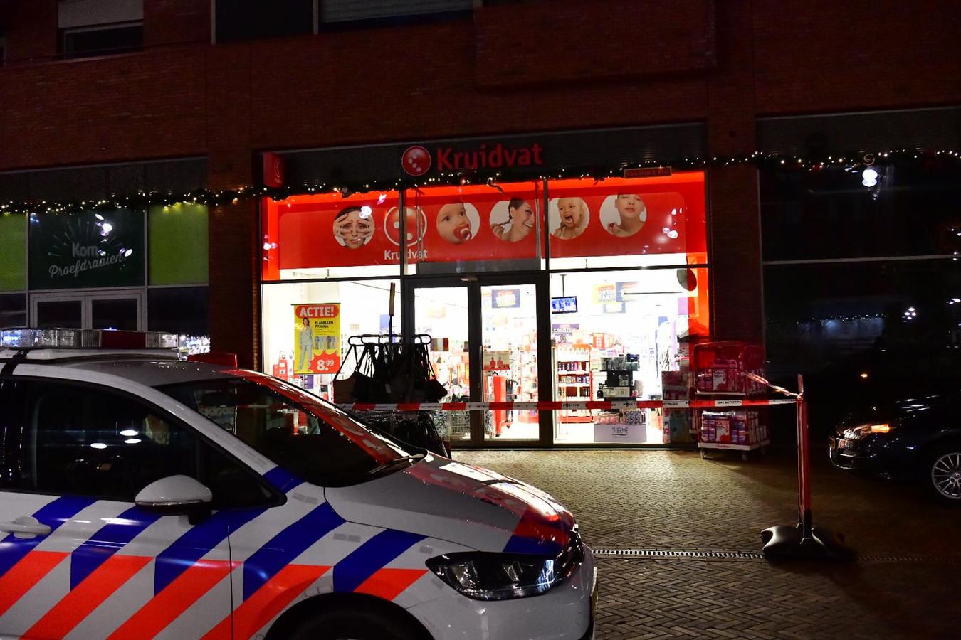Overval op filiaal van het Kruidvat in Meerhoven.