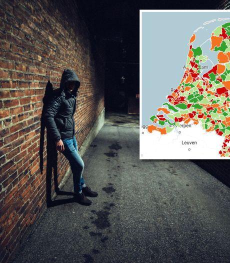 Dit zijn de (on)veiligste gemeenten van Nederland