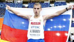 Russische dopingzondaar Ivanov moet WK-goud in snelwandelen inleveren