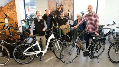 Ambassadeur Tom Boonen opent nieuwe fietsenwinkel