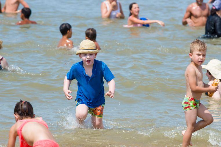zwemmen in zee kan in De Panne tot 20 uur