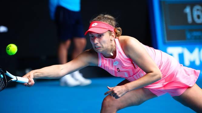 """Elise Mertens plaatst zich voor tweede ronde op Australian Open: """"Niet mijn beste match"""""""