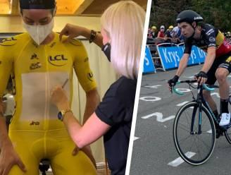 """Verschillende tijdritpakken van Roglic en Van Aert 'talk of the town' in Tour: """"En plots naaien ze je even snel in een pakje van de organisatie"""""""