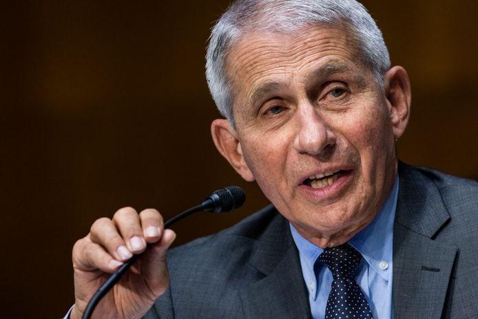 Le Dr Anthony Fauci, directeur de l'Institut national des allergies et des maladies infectieuses, mais également conseiller médical de la Maison Blanche.