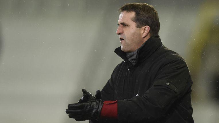 Van Geneugden was in het Waasland nog maar aan zijn eerste seizoen bezig, maar mag nu alweer uitkijken naar een nieuwe werkgever. Beeld BELGA