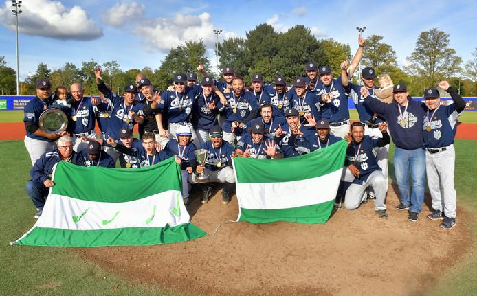 De honkballers van Neptunus werden vorig jaar weer kampioen van Nederland en zijn nu ook opnieuw sportploeg van het jaar in Rotterdam.