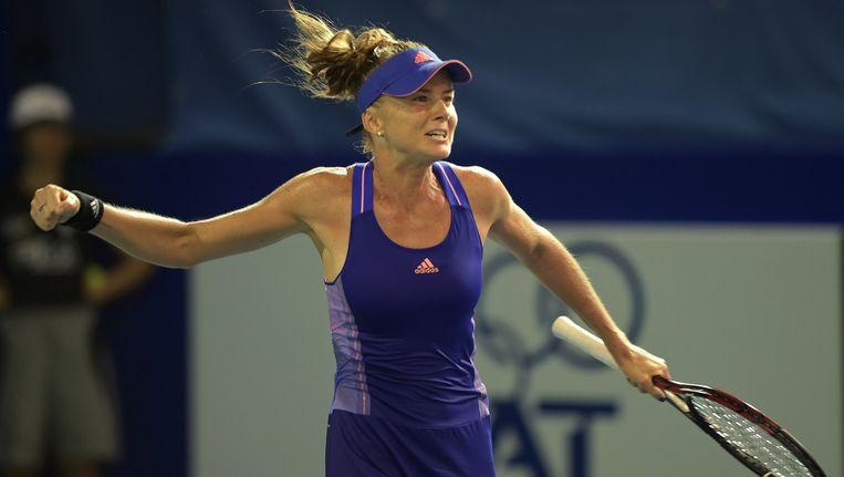 De 31-jarige Hantuchova mocht in Pattaya voor de zevende keer een WTA-toernooi op haar naam schrijven. Beeld AFP