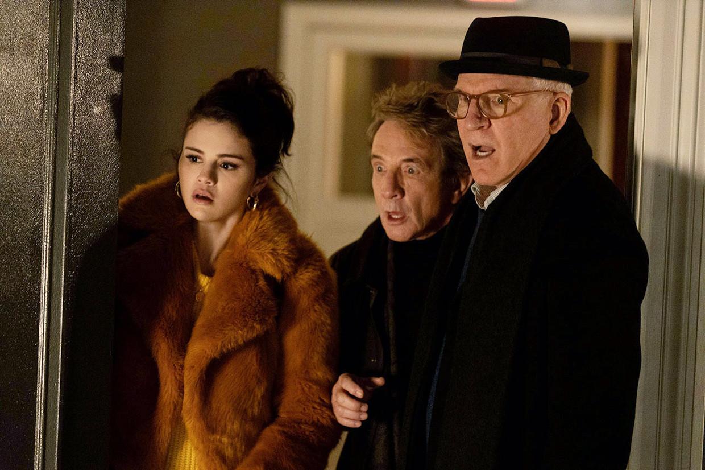 Selena Gomez, Martin Short en Steve Martin in 'Only Murders in the Building'. Beeld Disney+