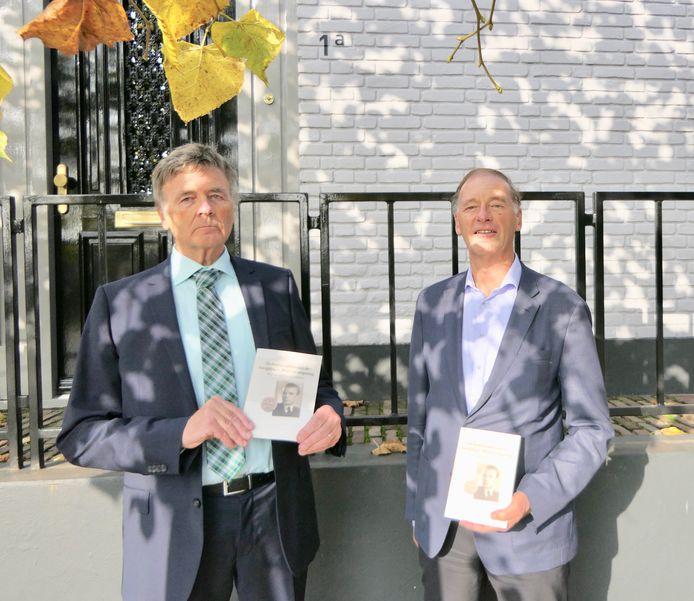 Theo en Jan Durenkamp voor vormalige melkfabriek Isodorus