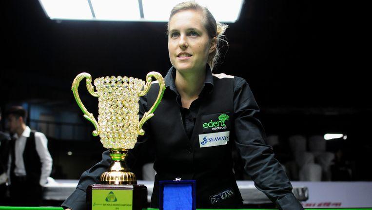 Wendy Jans verdedigt haar titel.
