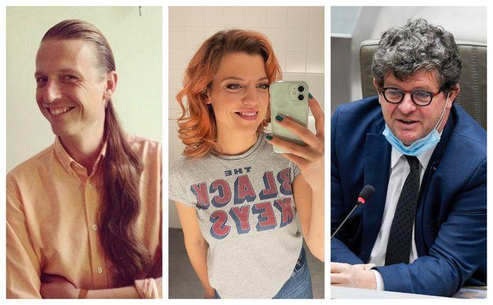 Bent Van Looy, Ella Leyers en Bart Tommelein