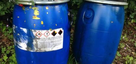 Geen drugsafval in gevonden vaten bij Almen