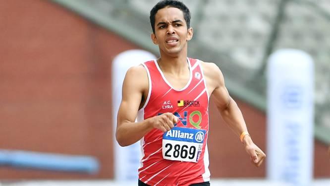 """Dylan Owusu wil topvorm omzetten in record op de 400m in Lier: """"Ik ben goed, maar het komt er tot hiertoe niet uit"""""""