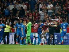 Nice-Marseille: envahissement de terrain et match arrêté
