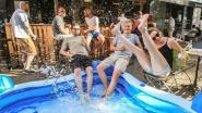 """Zwembad aan cafés Den Trap en Den Bras:  """"Het blijft hier de hele week"""""""