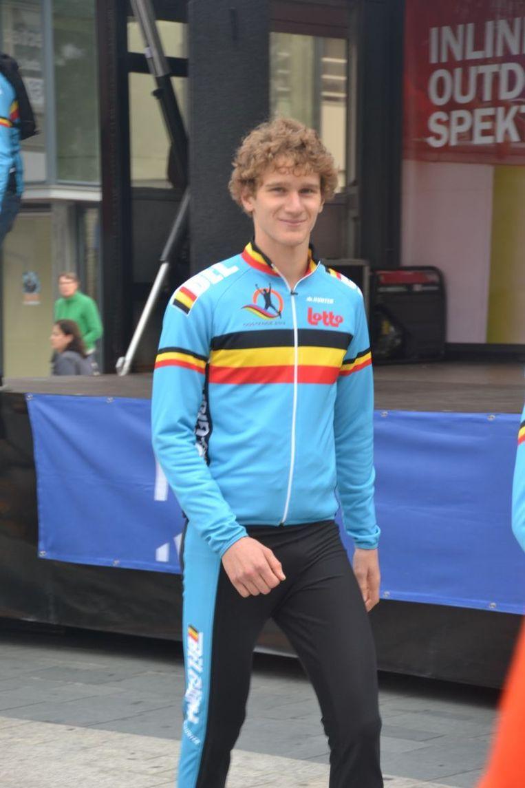 Mathias Vosté is door het ontbreken van Swings de grote favoriet voor de eindzege Beeld Inlineteam