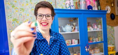Brechtje krijgt geen genoeg van porseleinstippen: 'Ik gun iedereen zo'n ontspannen hobby'