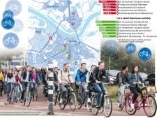 Stijging aantal fietsers in Nijmegen 'spectaculair'; aanpak knelpunten noodzakelijk