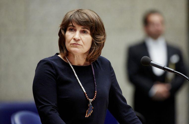 Minister Lilianne Ploumen van Handel en Ontwikkelingssamenwerking. Beeld anp