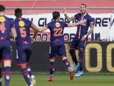 Degradatiestrijd ligt open: FC Emmen wint ook bij FC Utrecht en voert druk op Willem II en ADO verder op