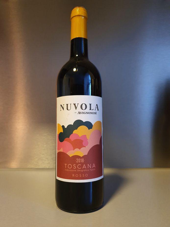 """Nuvola by Avignonesi(Rood Italië 2018 Delhaize)""""Lichtvoetig en Toscaans. Maar van een Vlaamse familie"""""""
