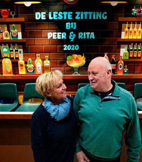 De leste carnavalszitting bij Peer en Rita in café-zaal Lavrijssen in Valkenswaard