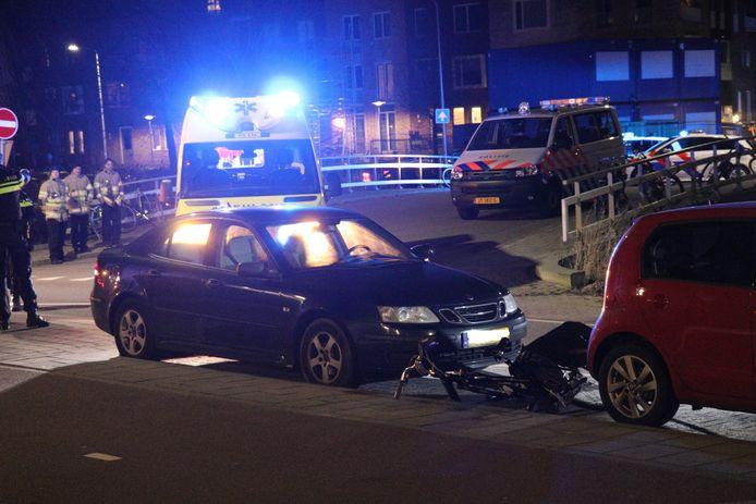 Het ongeval vond plaats op de Sartreweg in Utrecht.