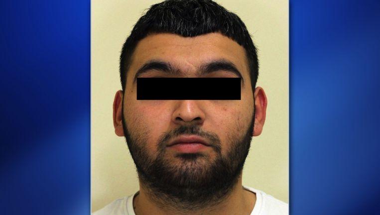 Ugur D. op de foto die werd verspreid toen hij op de Nationale Opsporingslijst werd geplaatst. Beeld Politie