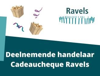 Ravels digitaliseert gemeentelijke cadeaucheque