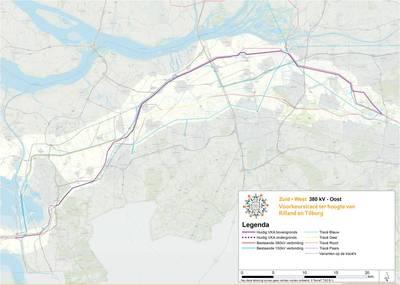 Gezamenlijk op zoek naar de ideale 380 kV-lijn door het Brabants landschap