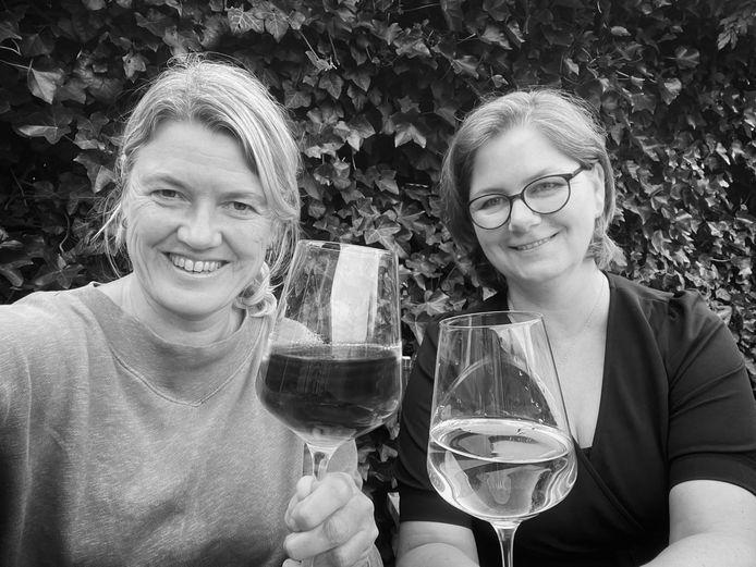 Mathilde Dusol en Marcelle Warringa van Proef de passie.