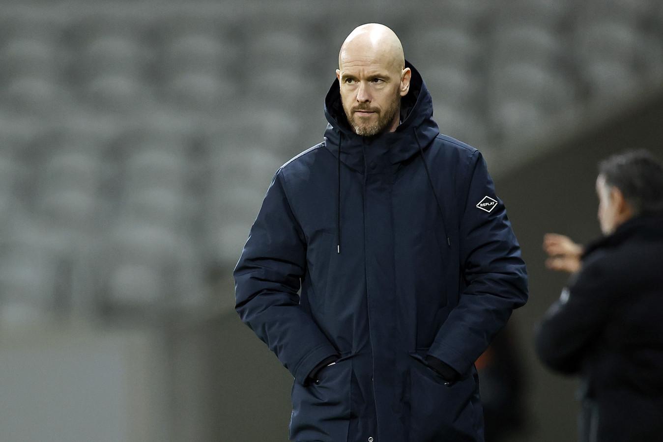 Erik ten Hag won vorige week met Ajax met 1-2 bij Lille.