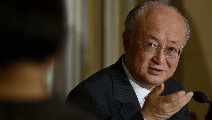 Yikiya Amano, directeur général de l'AIEA