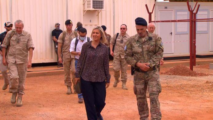Belgische delegatie in Mali