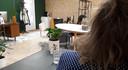 Een werkruimte van een journalist en een tekstschrijver in het verzamelgebouw Grote Voort.