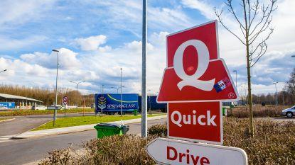 Quick en Burger King heropenen donderdag 40 drive-ins