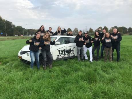 Groot tentfeest op grens tussen Zutphen en Warnsveld