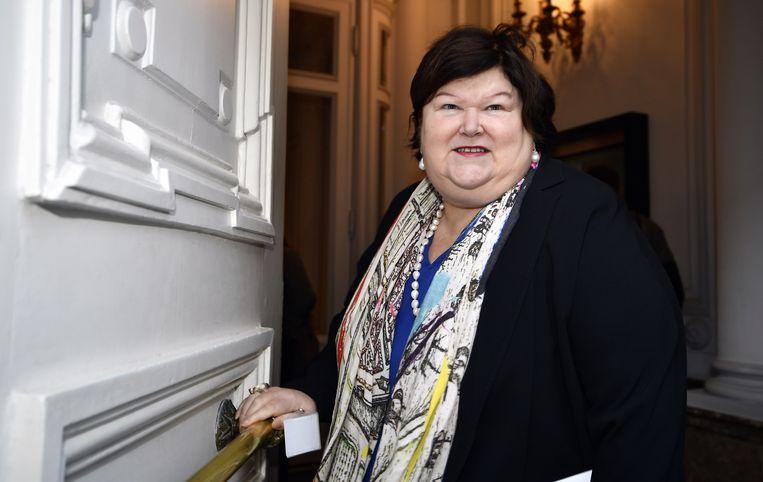 Minister van Volksgezondheid Maggie De Block (Open Vld). Beeld BELGA