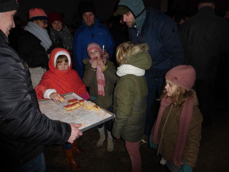 Naast hapjes en drankjes kan je op de nieuwjaarsreceptie van de stad ook een gratis evenementenkalender mee naar huis nemen.