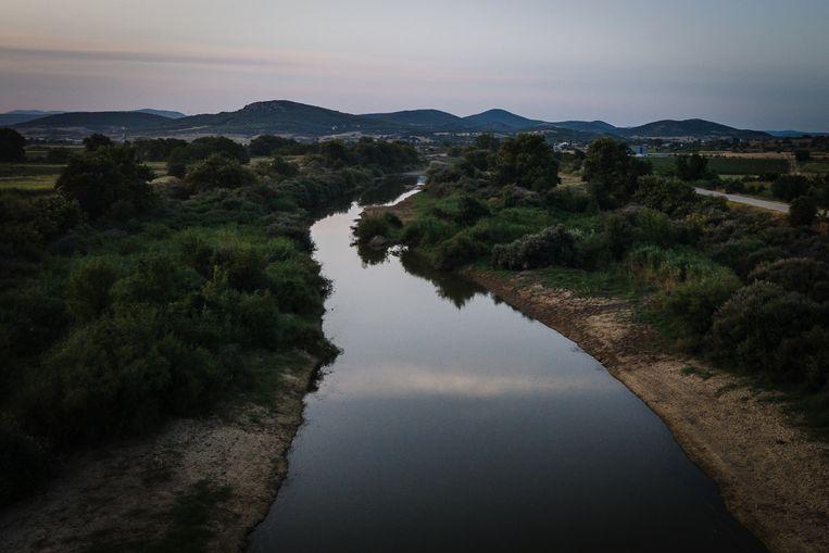 De Evros, de grens tussen Turkije en Griekenland  Beeld Nicola Zolin
