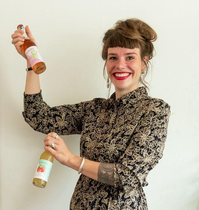 Dina Kähler bracht Sproedel op de markt, haar eigen variant van apfelschorle.