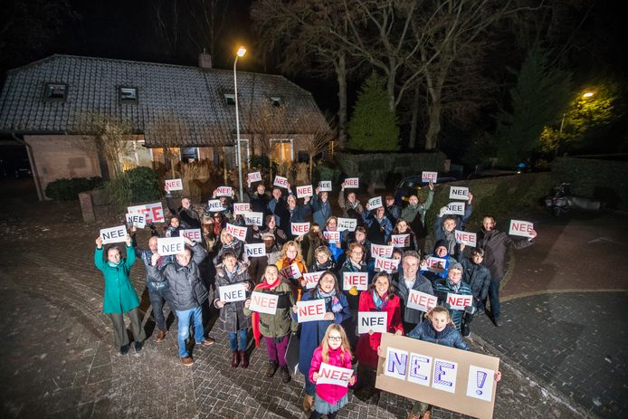 Inwoners van Huis ter Heide zijn tegen de biomassacentrale