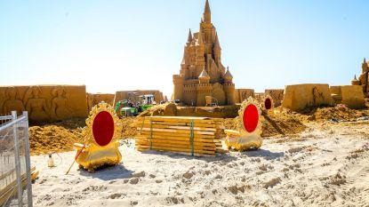 Zandsculpturenfestival bijna van start